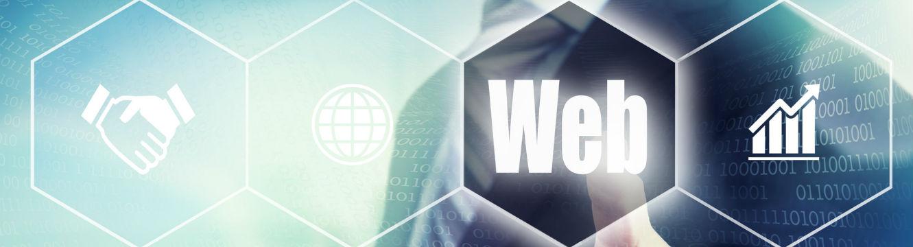 Ecran digital montrant le secteur du web